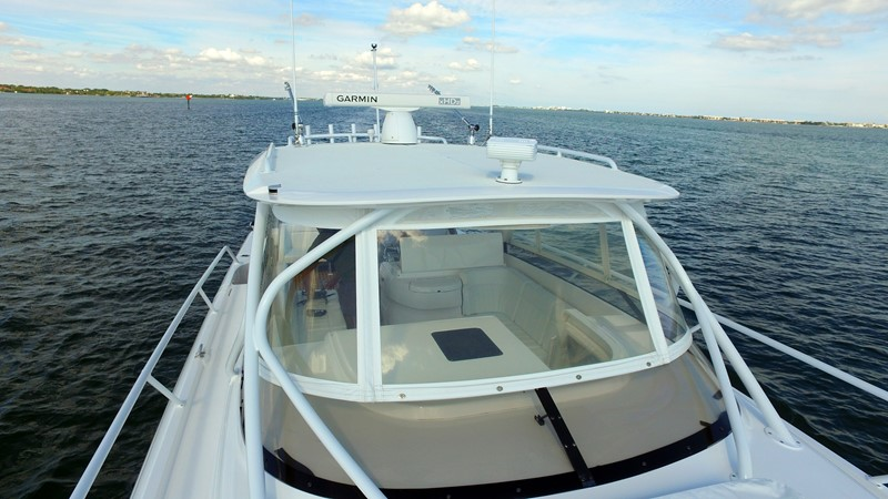 Garman Radar 2013 INTREPID 390 Sport Yacht Cuddy Motor Yacht 2447182