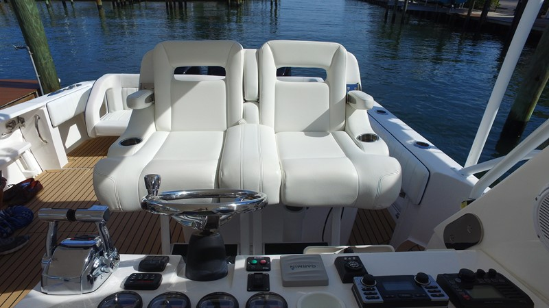 Pompanette Helm Chairs 2013 INTREPID 390 Sport Yacht Cuddy Motor Yacht 2447189
