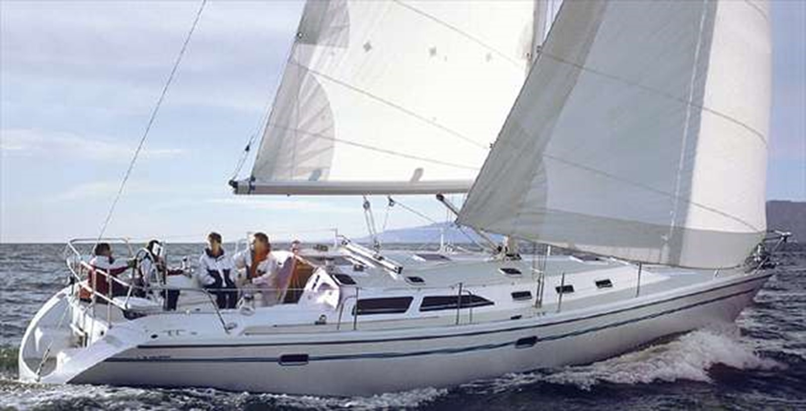 2001 CATALINA MKII Cruising Sailboat 2448786