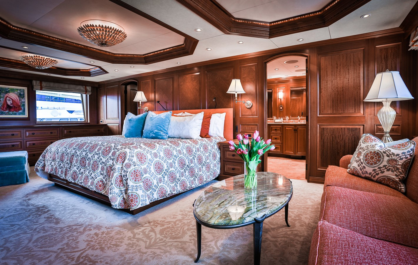 Master Stateroom 2006 BURGER  Motor Yacht 2580092