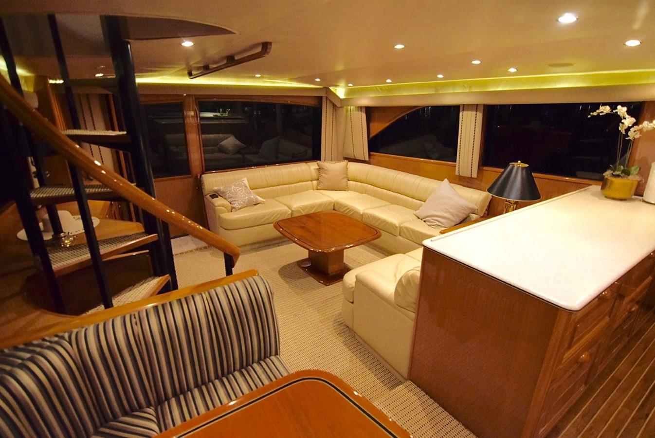 Salon 2001 VIKING Enclosed Bridge Motor Yacht 2449290
