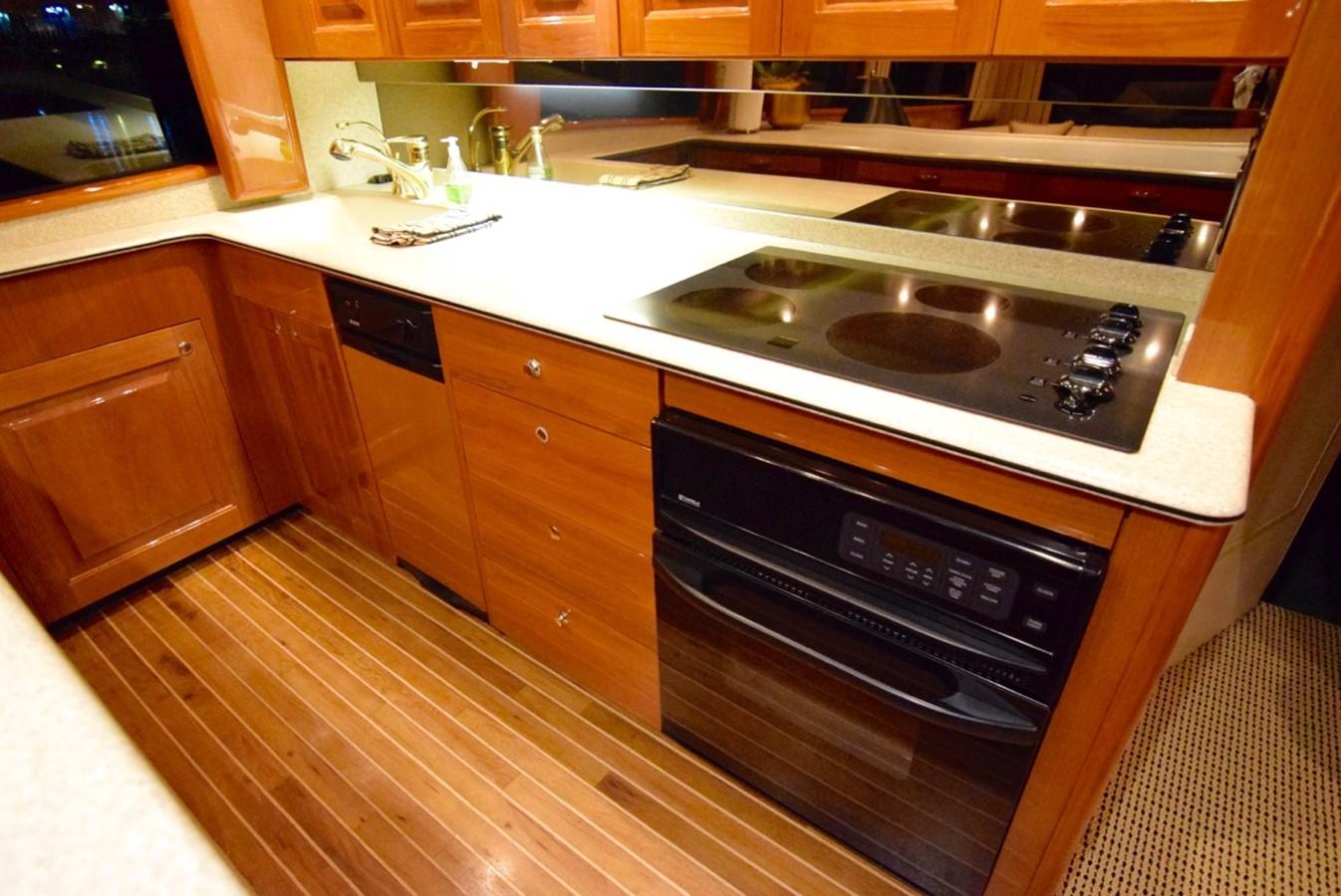 Galley 2001 VIKING Enclosed Bridge Motor Yacht 2449294