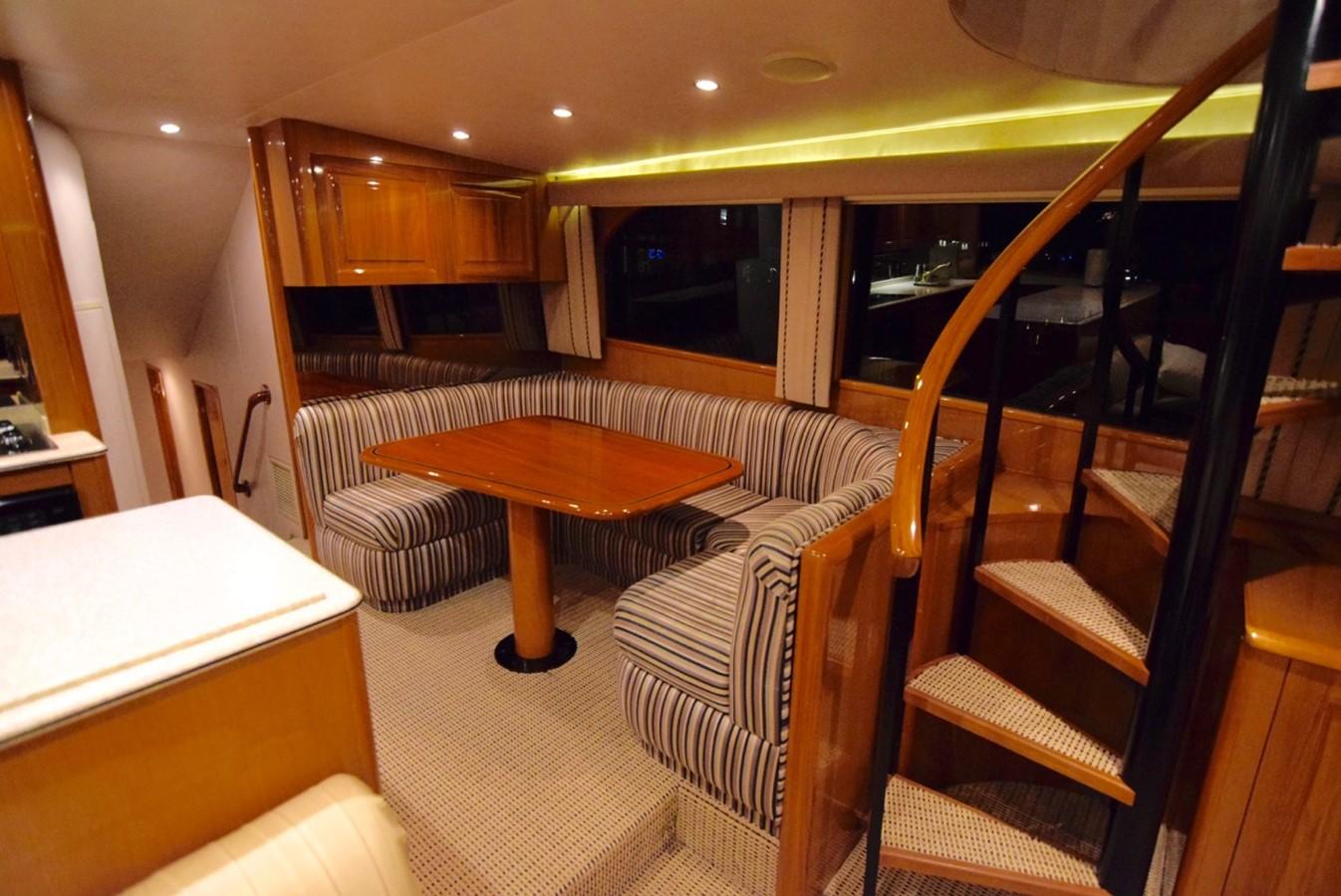 Dinette 2001 VIKING Enclosed Bridge Motor Yacht 2449295