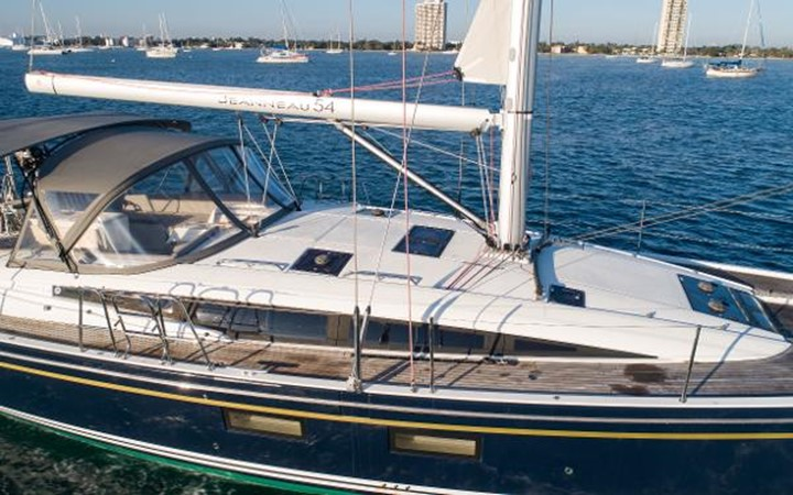 2017 JEANNEAU 54 Cruising/Racing Sailboat 2451700
