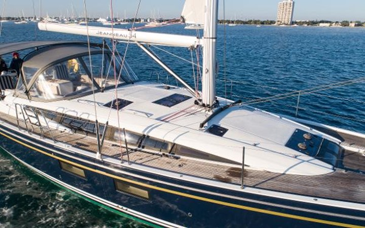 2017 JEANNEAU 54 Cruising/Racing Sailboat 2451701