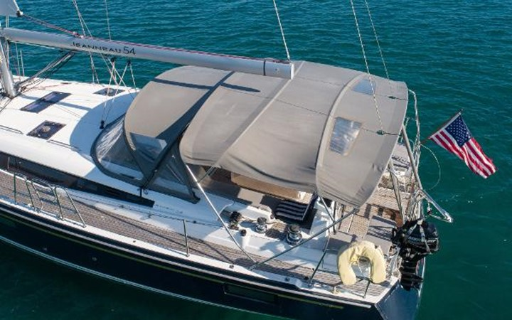 2017 JEANNEAU 54 Cruising/Racing Sailboat 2451719