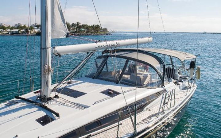 2017 JEANNEAU 54 Cruising/Racing Sailboat 2451769