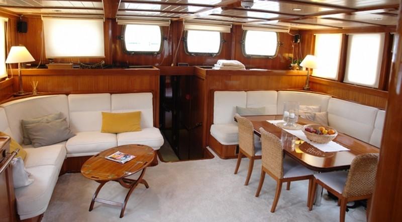 2004 AEGEAN YACHTS Classical Shooner - Full displacement Twin Screw Motor Vessel Cruiser 2458550