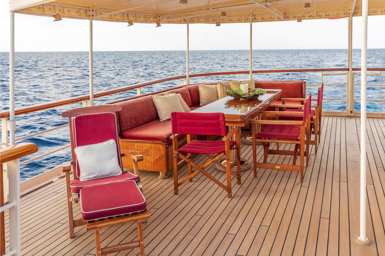 Bridge Deck Aft 2001 CUSTOM Classic Fantail Motor Yacht 2528465