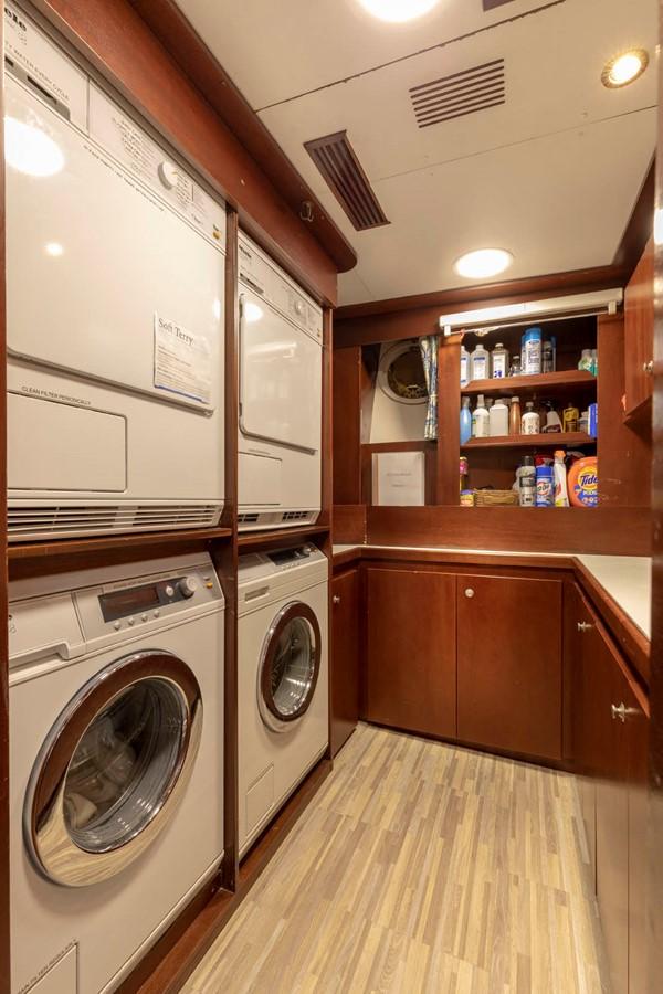 Laundry - Crew Area 2001 CUSTOM Classic Fantail Motor Yacht 2528475