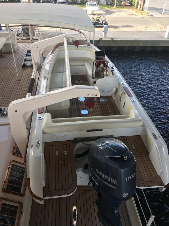 Owner's Tender 2001 CUSTOM Classic Fantail Motor Yacht 2529332