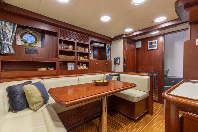 Crew Lounge 2001 CUSTOM Classic Fantail Motor Yacht 2528473