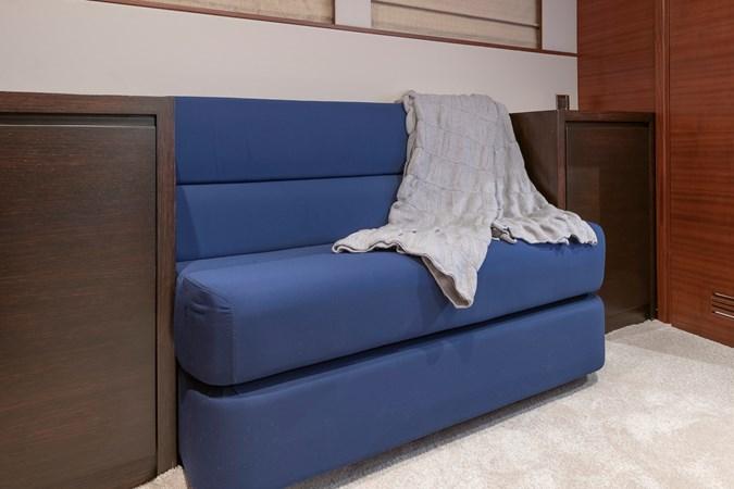 Sofa in Master cabin  2007 CUSTOM BUILT  Trawler 2461145
