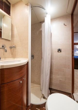 Guest bathroom  2007 CUSTOM BUILT  Trawler 2461152
