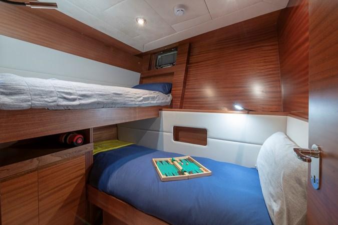 Guest Twin Cabin  2007 CUSTOM BUILT  Trawler 2461158