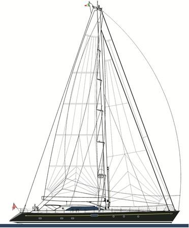 2013 PERINI NAVI Fast Cruiser Cruising Sailboat 2461813