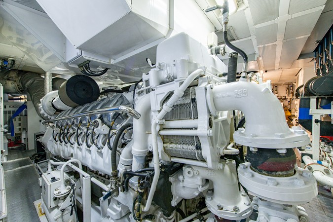 Engine Room 2004 OCEANFAST 174 Custom Superyacht Mega Yacht 2501068