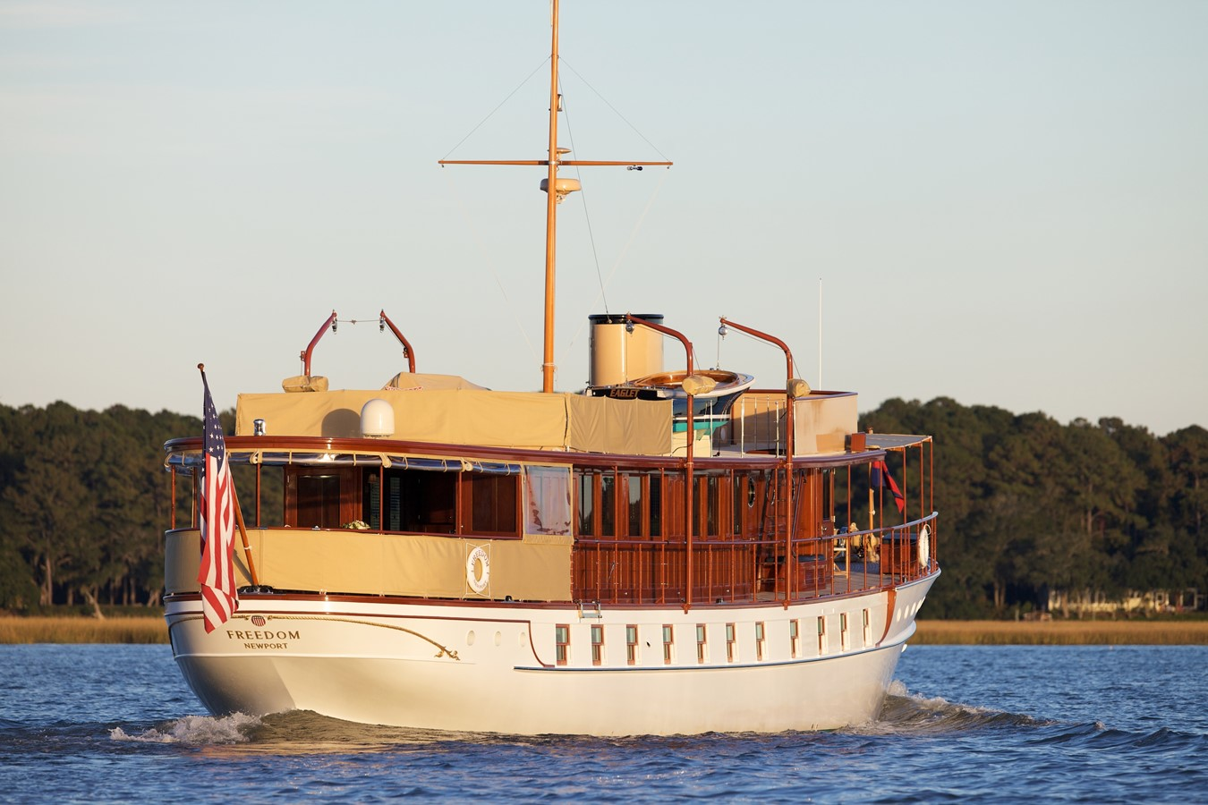 FREEDOM  1926 TRUMPY Mathis Fantail (Fractional Opportunity) Motor Yacht 2467404
