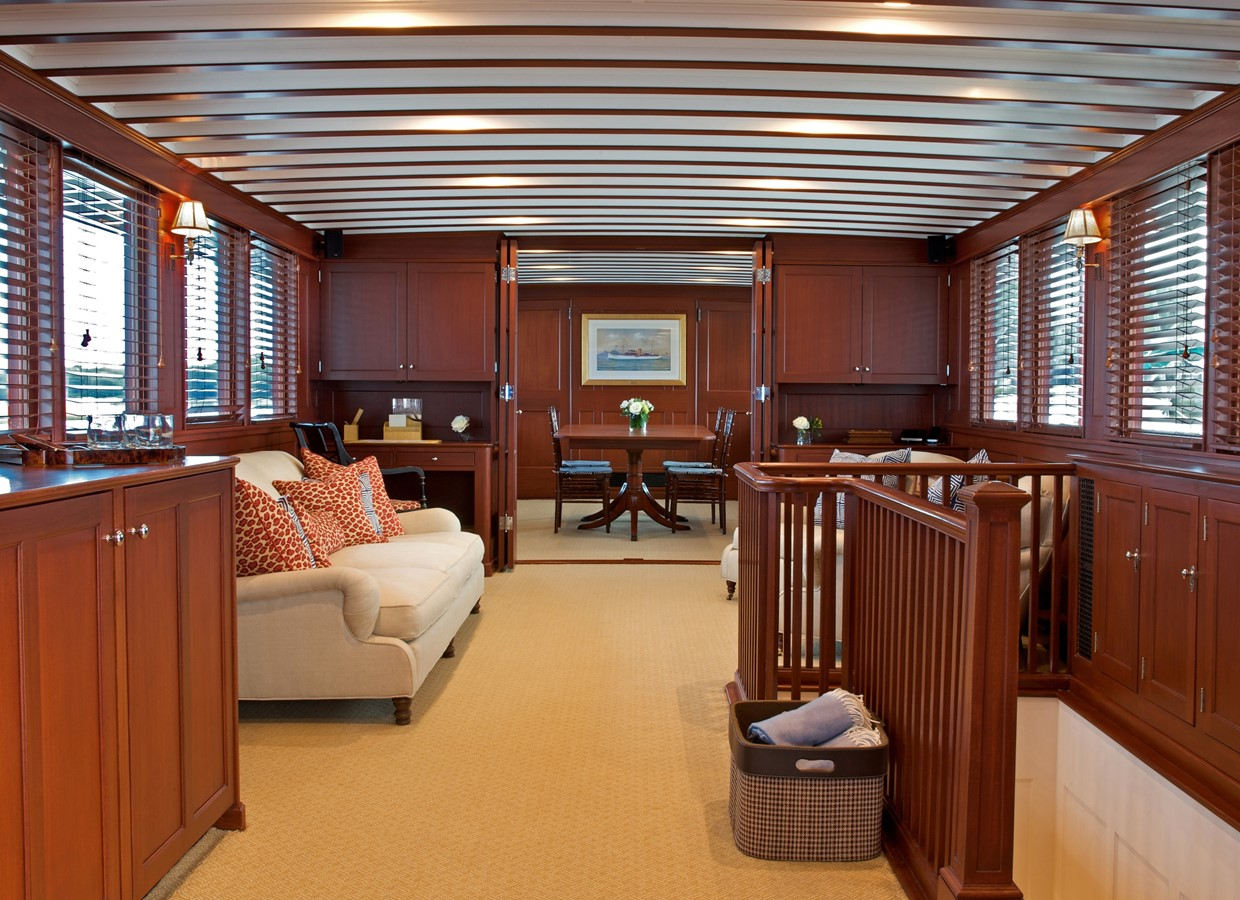 Main Saloon  1926 TRUMPY Mathis Fantail (Fractional Opportunity) Motor Yacht 2467405