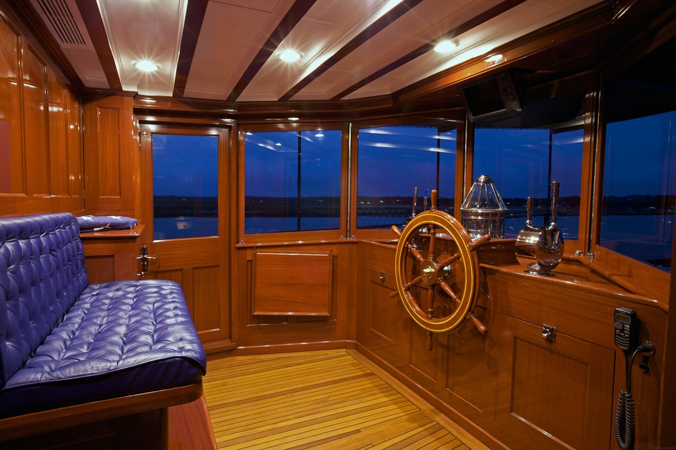 Pilot House  1926 TRUMPY Mathis Fantail (Fractional Opportunity) Motor Yacht 2467415