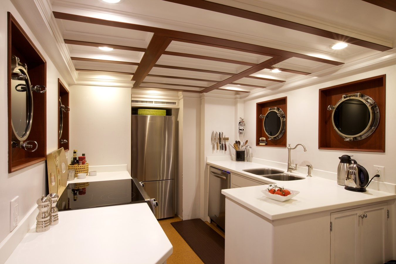 Main Galley 1926 TRUMPY Mathis Fantail (Fractional Opportunity) Motor Yacht 2467416