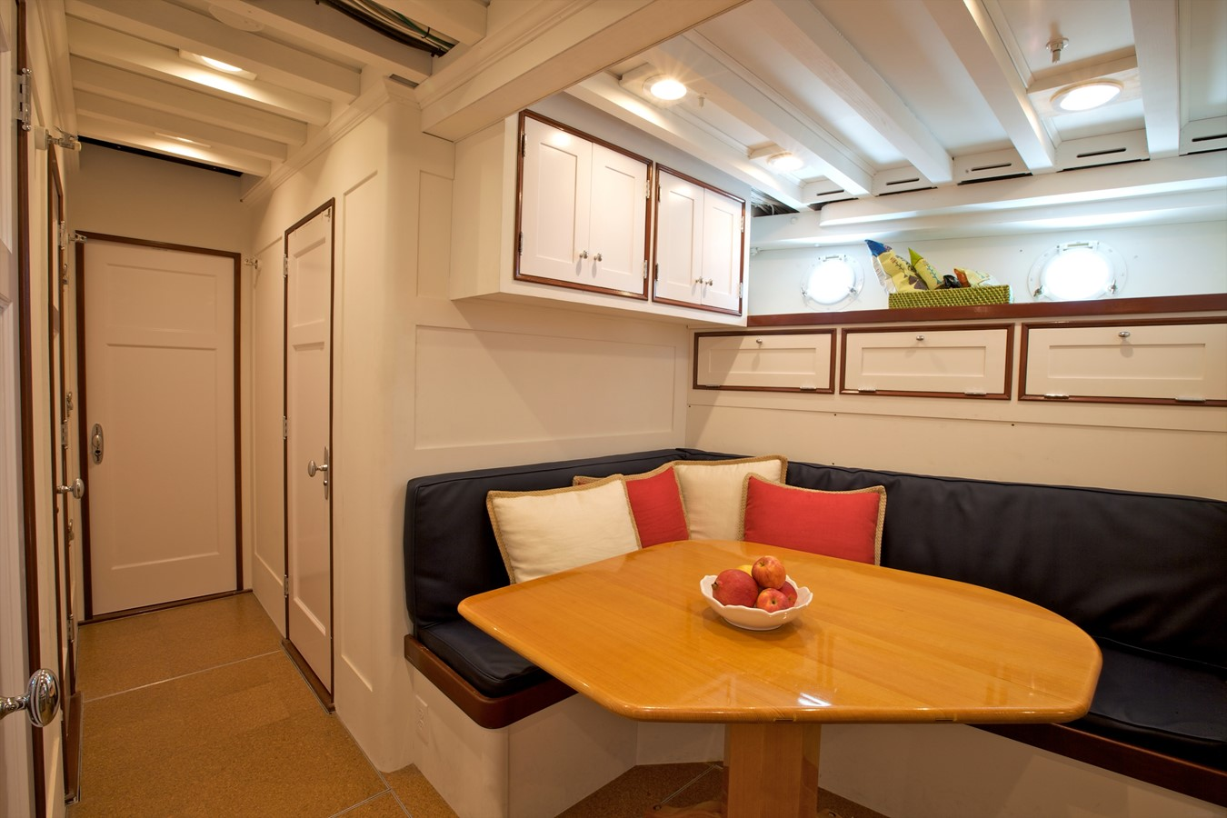 Crew Galley & Settee 1926 TRUMPY Mathis Fantail (Fractional Opportunity) Motor Yacht 2467417