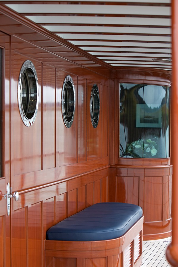 Port Side Seating  1926 TRUMPY Mathis Fantail (Fractional Opportunity) Motor Yacht 2467418