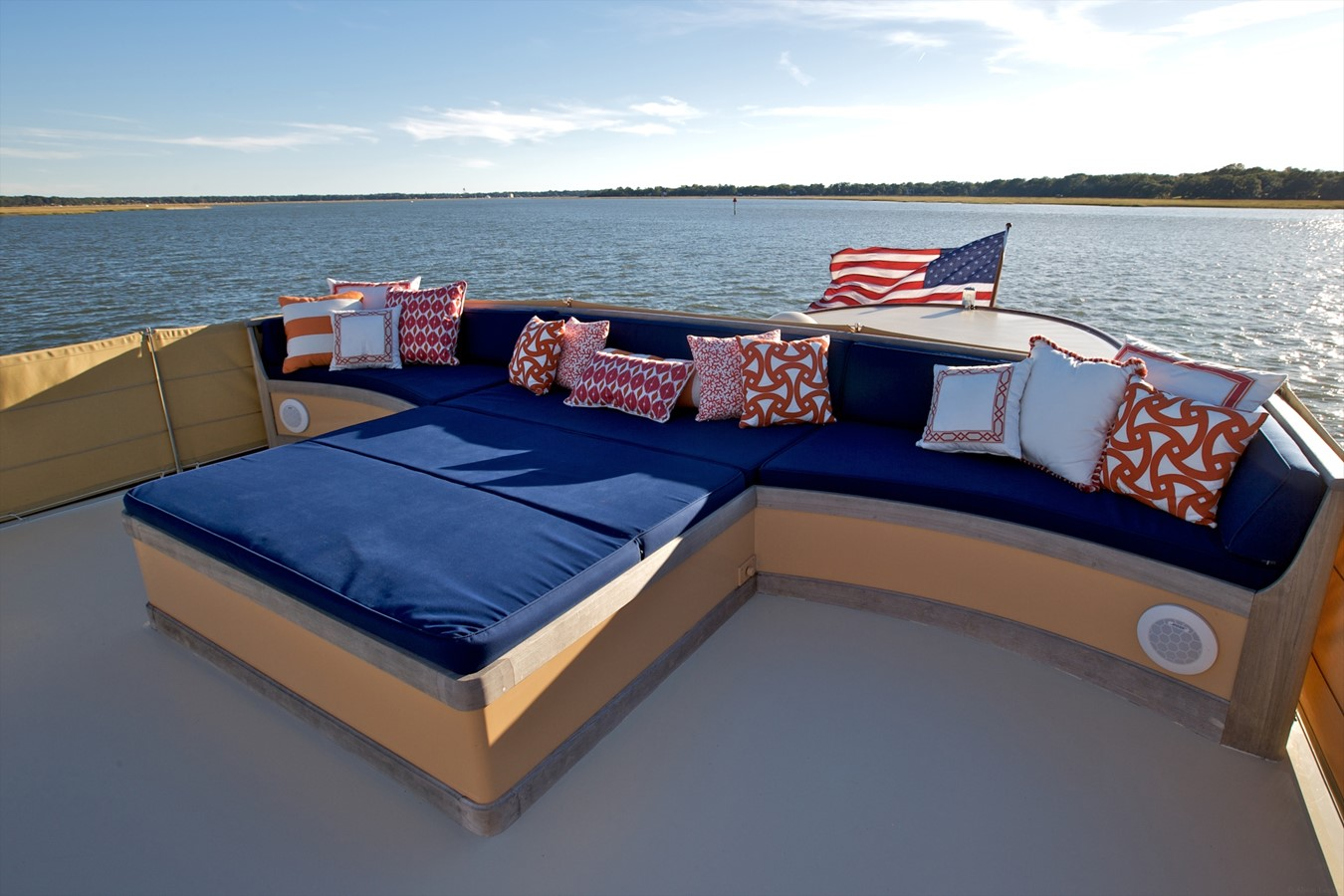 Boat Deck Aft 1926 TRUMPY Mathis Fantail (Fractional Opportunity) Motor Yacht 2467419