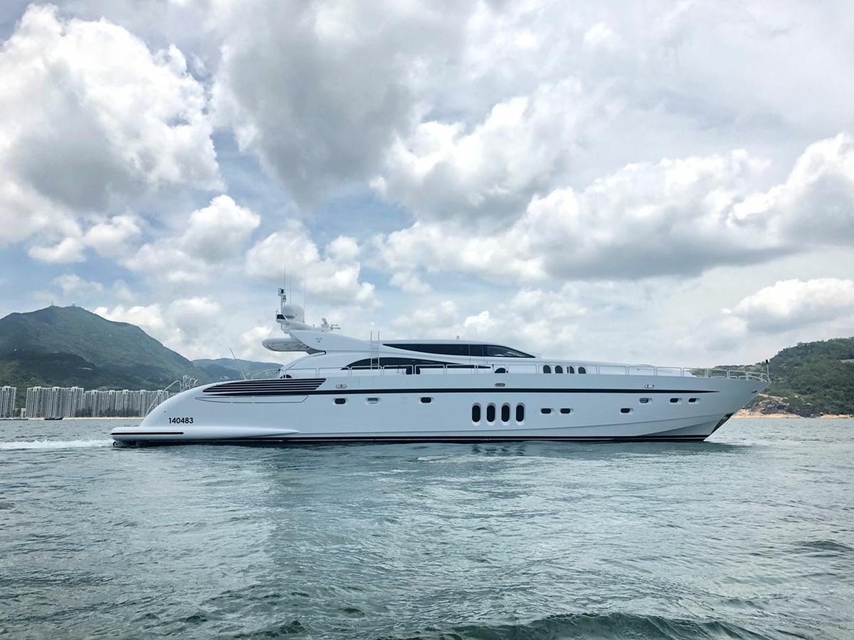 Leopard 34m yacht for sale