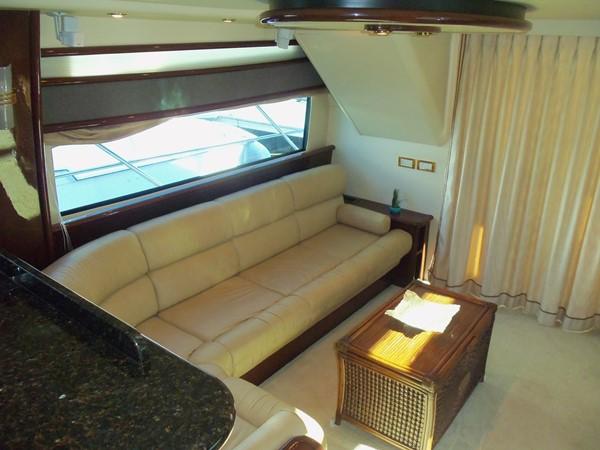 Salon Settee Looking Aft 2008 NEPTUNUS Flybridge Motoryacht Cruiser 2498048