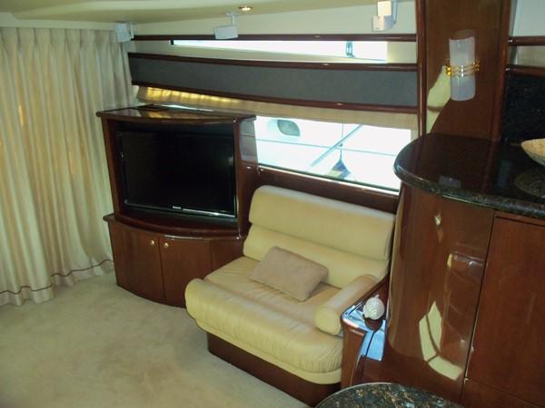 Salon Portside Looking Aft 2008 NEPTUNUS Flybridge Motoryacht Cruiser 2498049