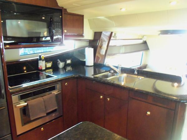 Galley Looking Aft 2008 NEPTUNUS Flybridge Motoryacht Cruiser 2498051