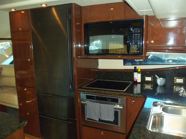 Galley Stand Up Refrigerator/Freezer 2008 NEPTUNUS Flybridge Motoryacht Cruiser 2498052