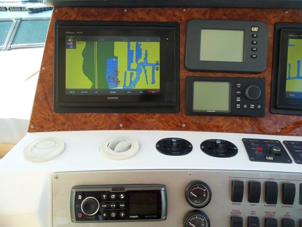 Helm Detail Port 2008 NEPTUNUS Flybridge Motoryacht Cruiser 2498109