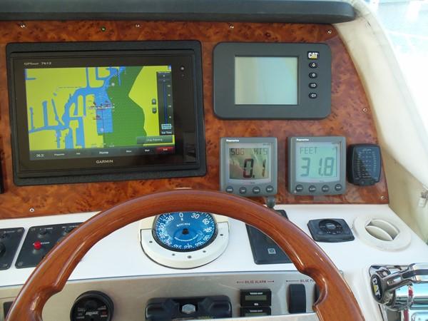 Helm Detail Starboard 2008 NEPTUNUS Flybridge Motoryacht Cruiser 2498110