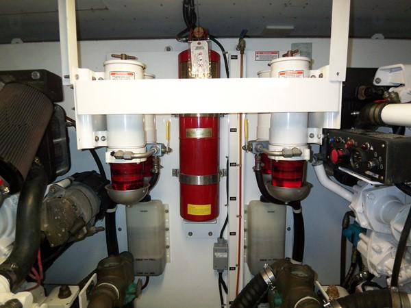 Engine Room Forward 2008 NEPTUNUS Flybridge Motoryacht Cruiser 2498117