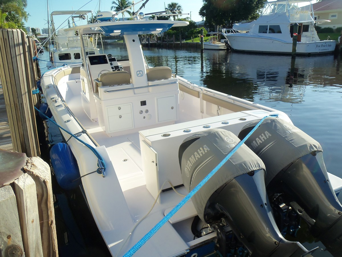Engines Always Covered 2014 BELZONA MARINE  325 CC Center Console 2478818