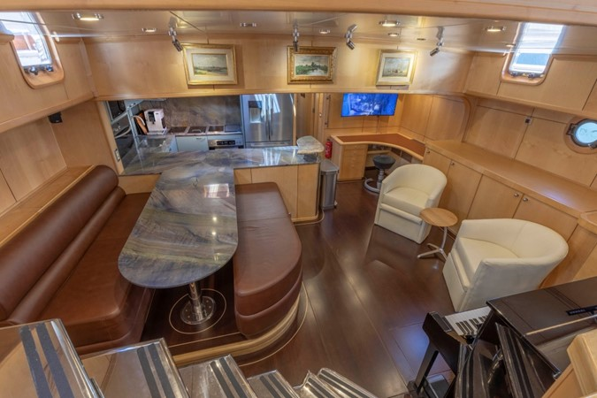 Lower Salon & Galley 1957 FEADSHIP  Vintage 2499062