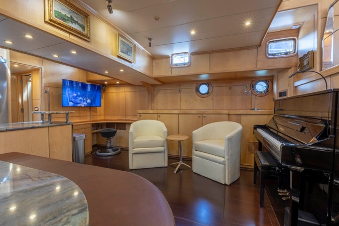 Lower Salon & Piano 1957 FEADSHIP  Vintage 2499063