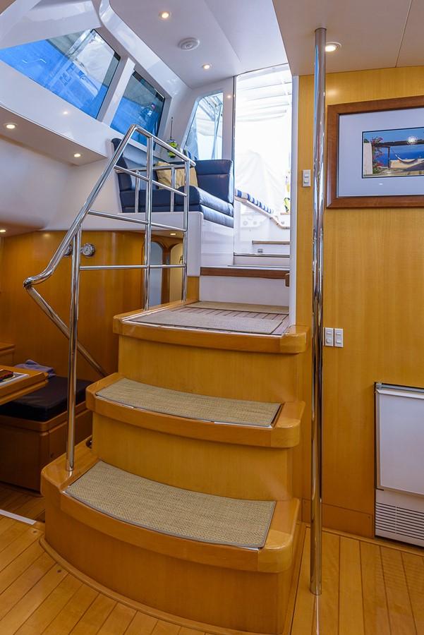 Companionway Stairs 2000 KELLY ARCHER Van de Stadt Cruising Sailboat Cruising Sailboat 2481178