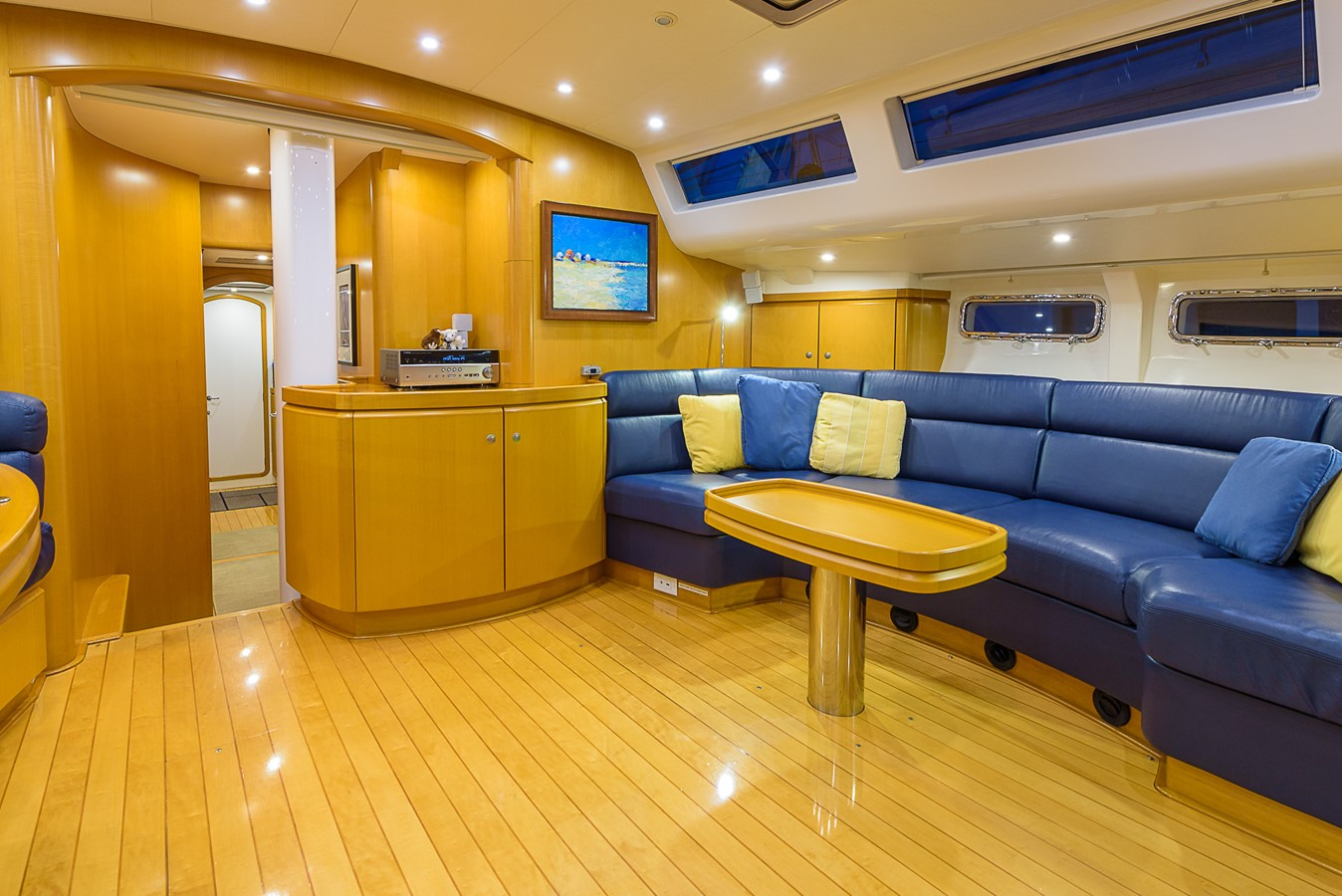 Salon, Stbd. 2000 KELLY ARCHER Van de Stadt Cruising Sailboat Cruising Sailboat 2481194
