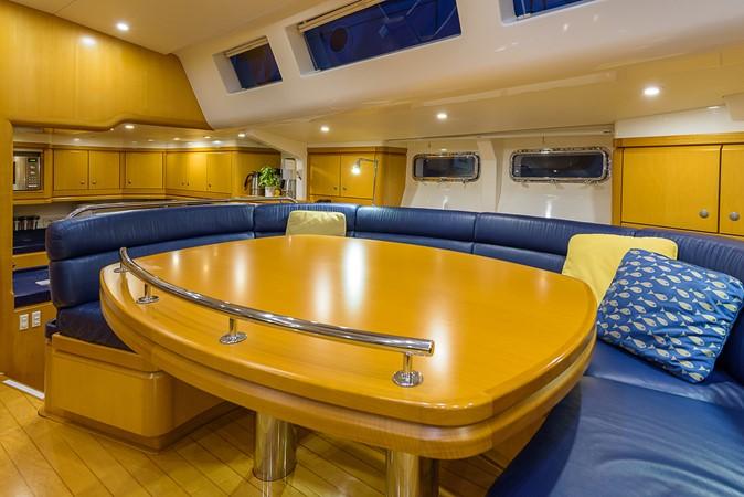 Salon Dining, Port 2000 KELLY ARCHER Van de Stadt Cruising Sailboat Cruising Sailboat 2481192