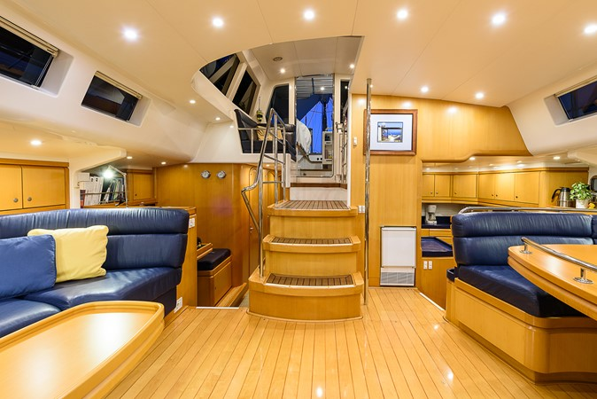 Salon, Looking Aft 2000 KELLY ARCHER Van de Stadt Cruising Sailboat Cruising Sailboat 2481193