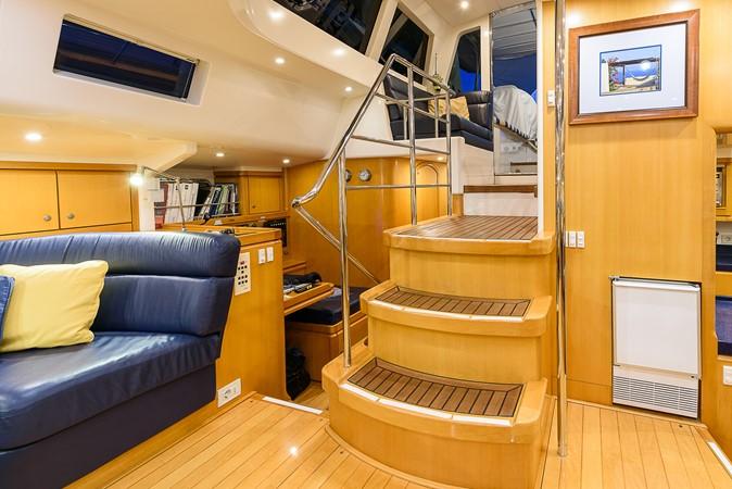 Salon Aft to Nav Station 2000 KELLY ARCHER Van de Stadt Cruising Sailboat Cruising Sailboat 2481213