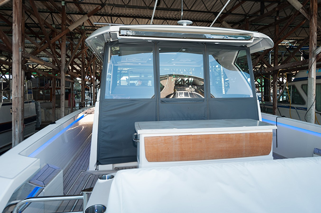 Cockpit with Covers 2016 TIARA Q44 Motor Yacht 2532650