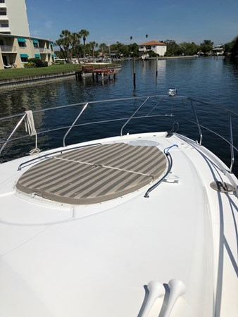 Foredeck Sun Lounge 2011 Cruisers Yachts 48 Cantius Cruiser 2485379