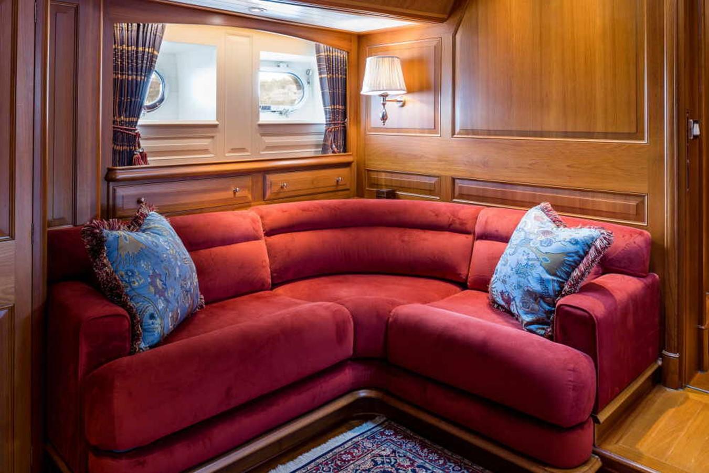 Master Stateroom Settee 1998 ALLOY Sailing Yacht  Cruising Sailboat 2486781