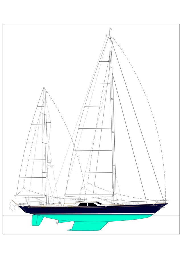 1998 ALLOY Sailing Yacht  Cruising Sailboat 2545587