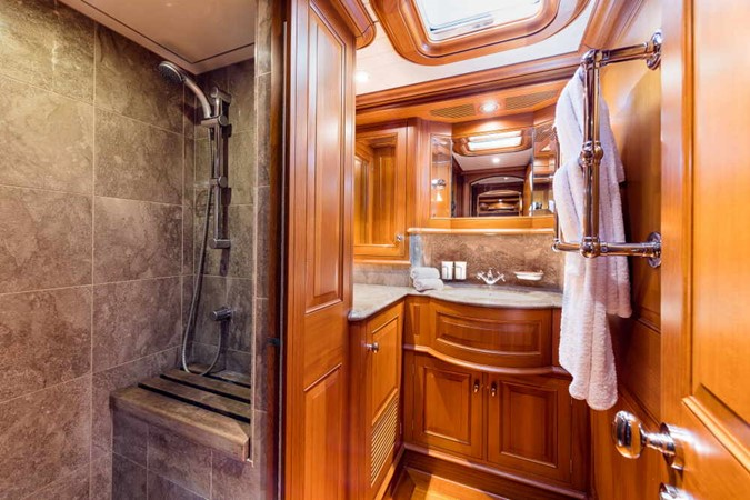 Master Head showing only Shower Side 1998 ALLOY Sailing Yacht  Cruising Sailboat 2486780