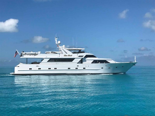 1990 BROWARD Custom Extended Motor Yacht 2499293
